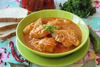 Филе хека в томатном соусе - Шаг 12
