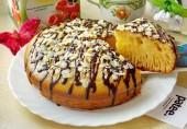Пирог с пудингом  в мультиварке