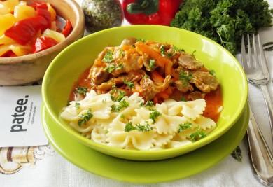Рецепт Куриные желудки в томатной подливе