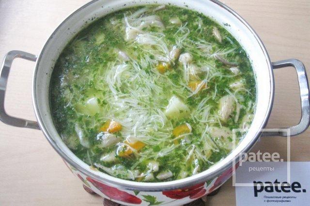 крем суп с вешенками рецепт с фото
