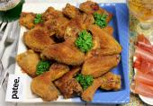 Хрустящие куриные крылышки