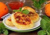 Сырники с варёной сгущёнкой