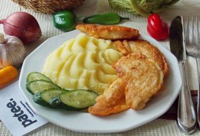 Рецепт Филе куриной грудки в пивном кляре