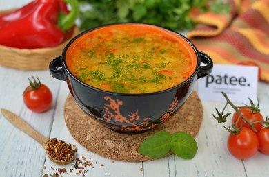 Рецепт Рисовый суп Мексиканские страсти