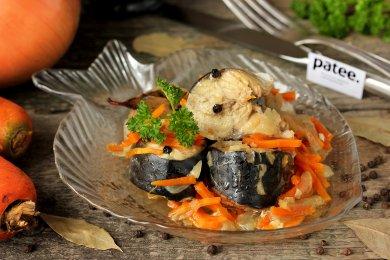 Рецепт Скумбрия, тушеная с морковью и луком