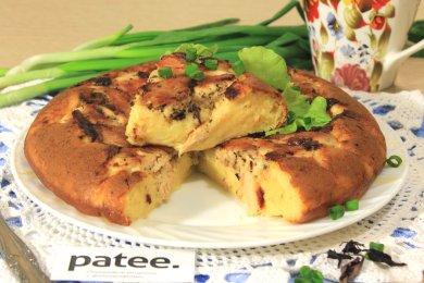 Рецепт Сырный пирог с курицей в мультиварке — рецепт для мультиварки