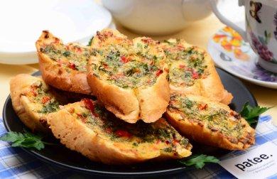 Рецепт Гренки с сыром и перцем чили