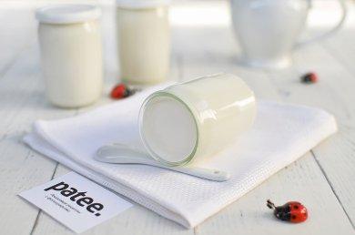 Рецепт Сливочный йогурт — рецепт для йогуртницы