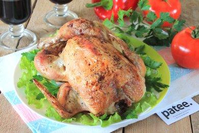 Рецепт Курица, запеченная с чесноком