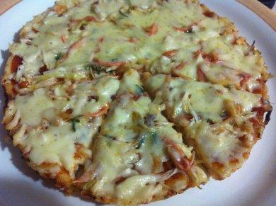 Рецепт Пицца Минутка
