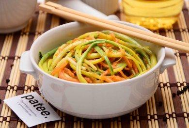 Рецепт Салат черемша с морковью по-корейски