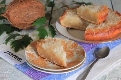 Рецепт Кокосовый пирог в мультиварке — рецепт для мультиварки