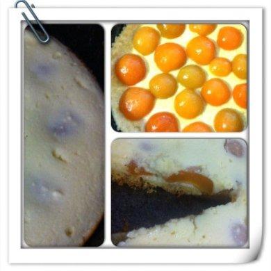 Рецепт Творожный пирог с персиками!