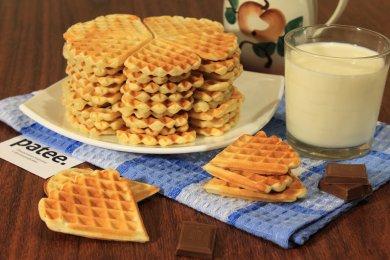 Рецепт Сливочные вафли на сметане — рецепт для вафельницы