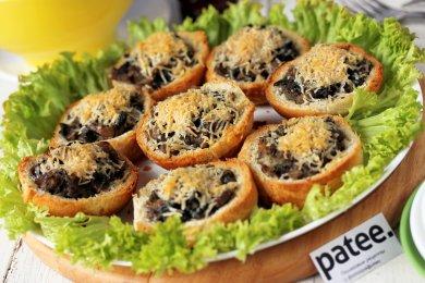 Рецепт Булочки с грибной начинкой