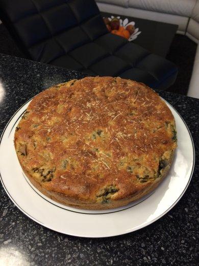 Рецепт Диетический пирог с курицей и грибами
