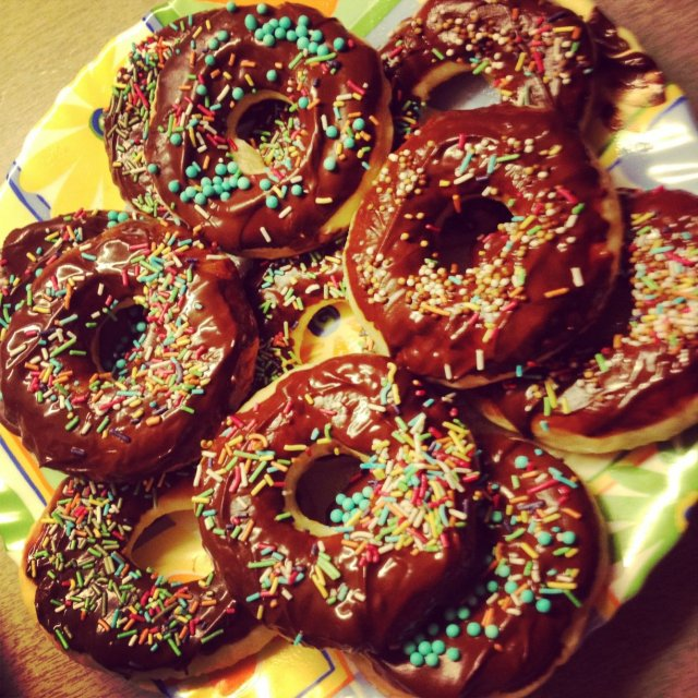 Пончики рецепт пошаговый с сухими