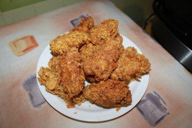 Рецепт Острые крылышки KFC