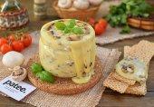 Плавленный сыр с грибами