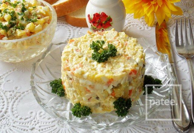 Салаты на день рождения с копченой курицей рецепты