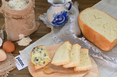 Рецепт Белый хлеб из хлебопечки — рецепт для хлебопечки
