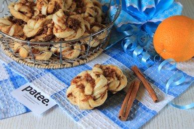 Рецепт Датские апельсиновые слойки