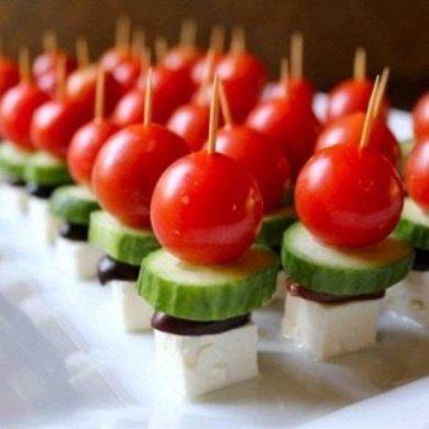 Рецепт Греческие шпажки