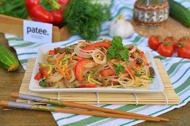Рецепт Фунчеза с овощами и мясом