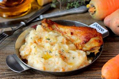 Рецепт Картофельное пюре с сельдереем и морковью