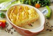 Запеканка из картофеля и молотого мяса
