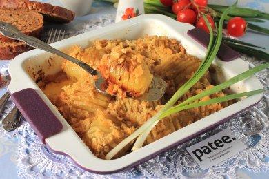 Рецепт Запеченный картофель Гассель