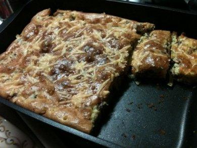 Рецепт пирог с консервированной сайрой