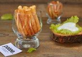 Картофель фри с чесночным соусом