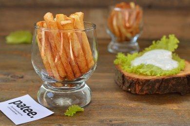 Рецепт Картофель фри с чесночным соусом