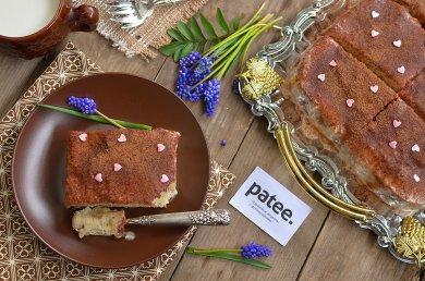 Рецепт Банановый пирог с кремом