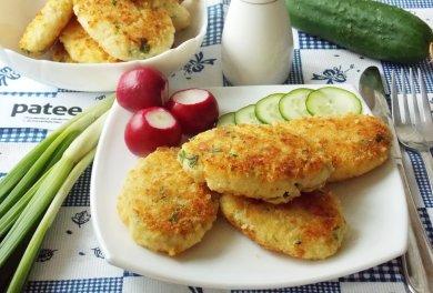 Рецепт Рыбные котлеты с картофелем