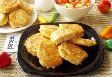 Рецепт Медальоны с сыром из мясного фарша