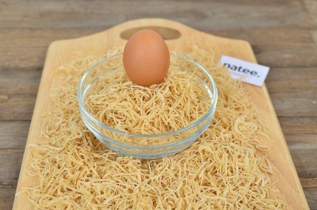 Как сделать лапшу в домашних условиях без яиц