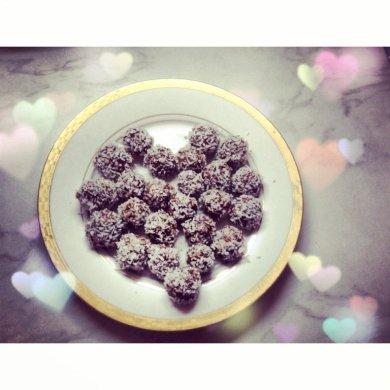 """Рецепт Шоколадные конфеты """"Рафаэлло"""""""