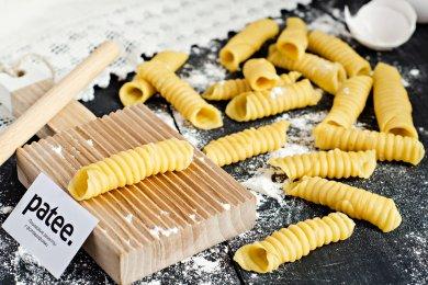 Рецепт Домашняя  паста Гарганелли