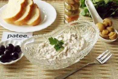 Рецепт Паштет из печени  трески и творожного сыра