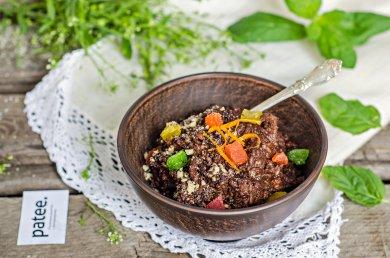 Рецепт Шоколадная рисовая каша