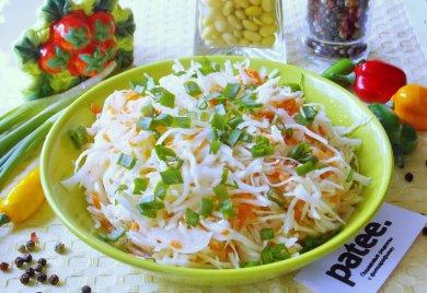 Рецепт Маринованная капуста быстрого приготовления