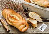Слоеный хлеб на оливковом масле