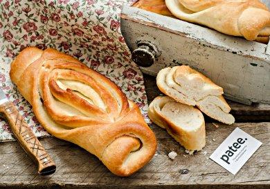 Рецепт Слоеный хлеб на оливковом масле