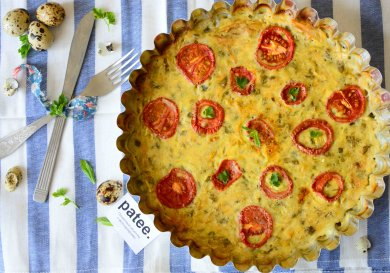Рецепт Запеканка из кабачков с картофелем и помидорами
