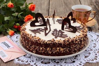 Рецепт Торт шоколадно-пудинговый