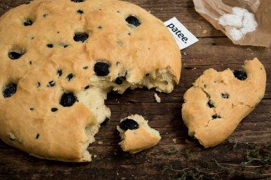Рецепт Фокачча с маслинами