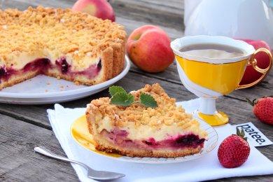 Рецепт Пирог фруктово-ягодный