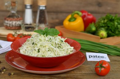 Рецепт Капустный салат со свежим огурцом